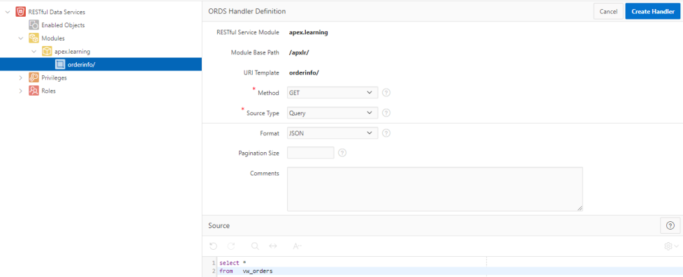 Integrating Oracle APEX (18 2) with Microsoft Power BI (Oracle